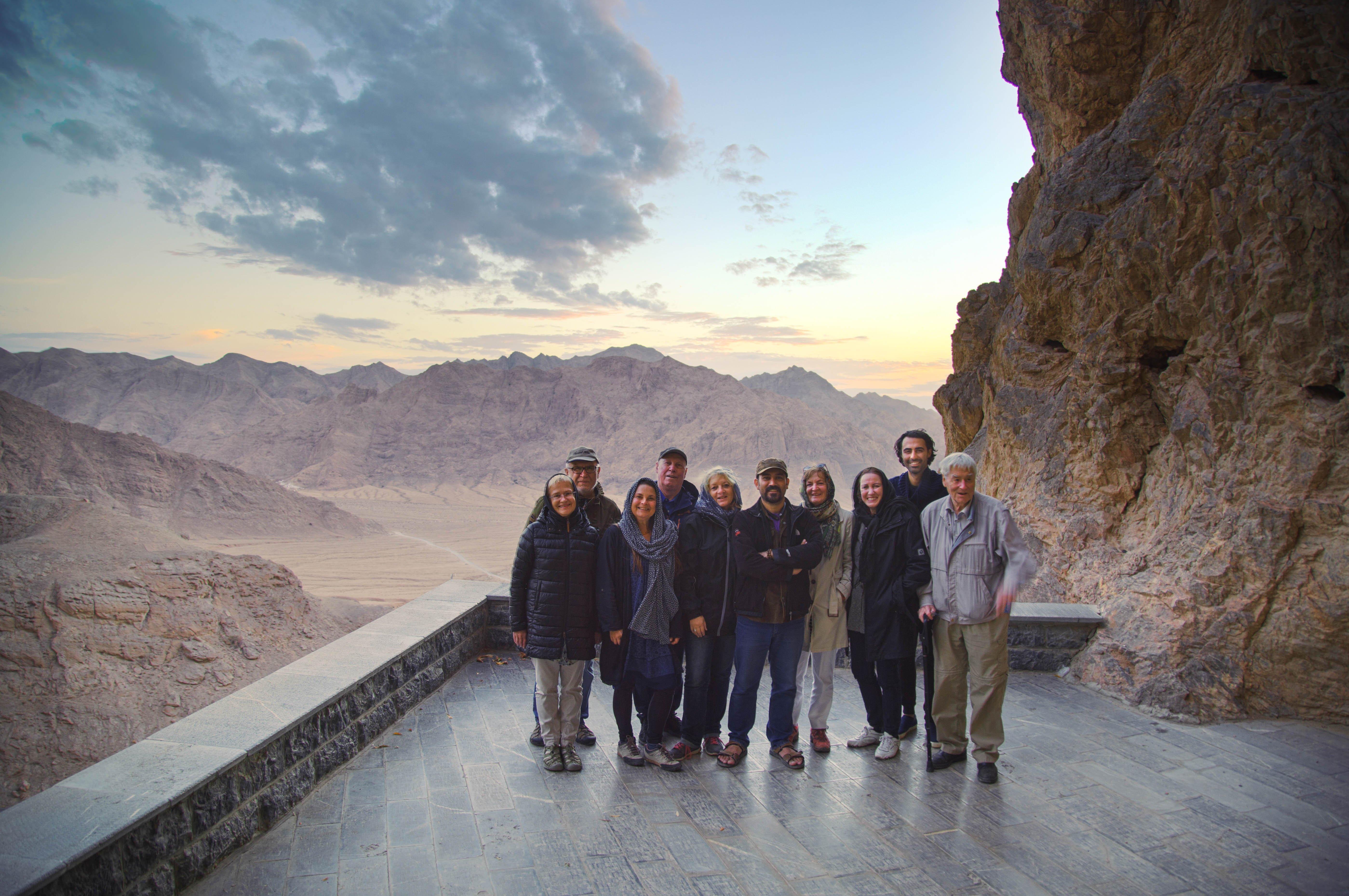 Reisegruppe im Iran