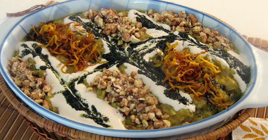 kashke Bademjan-persisches-essen