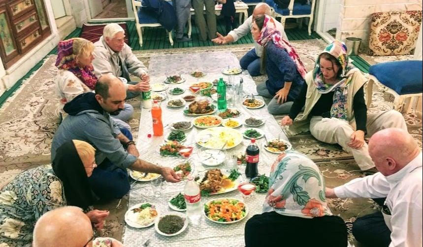 Gastfreundschaft in Iran